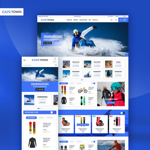 Picture of Cape Town Theme for nopCommerce